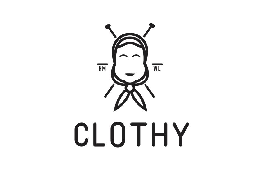 Logo and Corporate Identity for Clothy Handmade Clothes