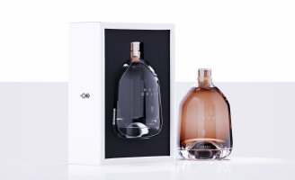 Minimal Bottle Design and Product Identity Design for Greek Alcoholic Liquor and Name Giving