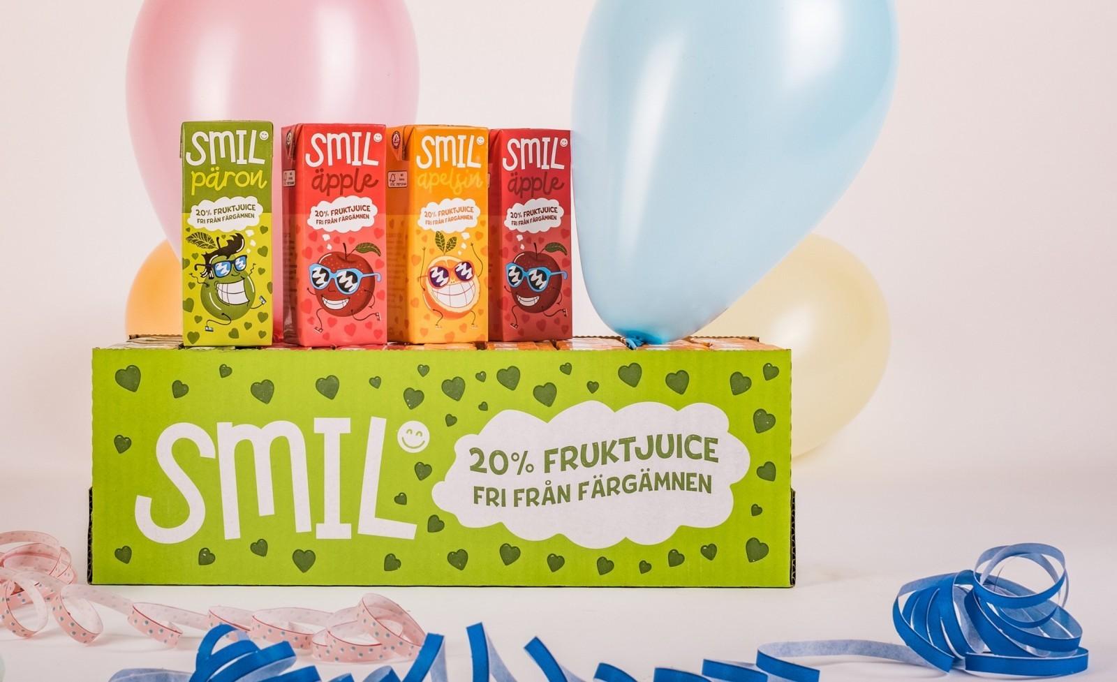 Mikael Selin Design Studio – Smil Fruit Drink