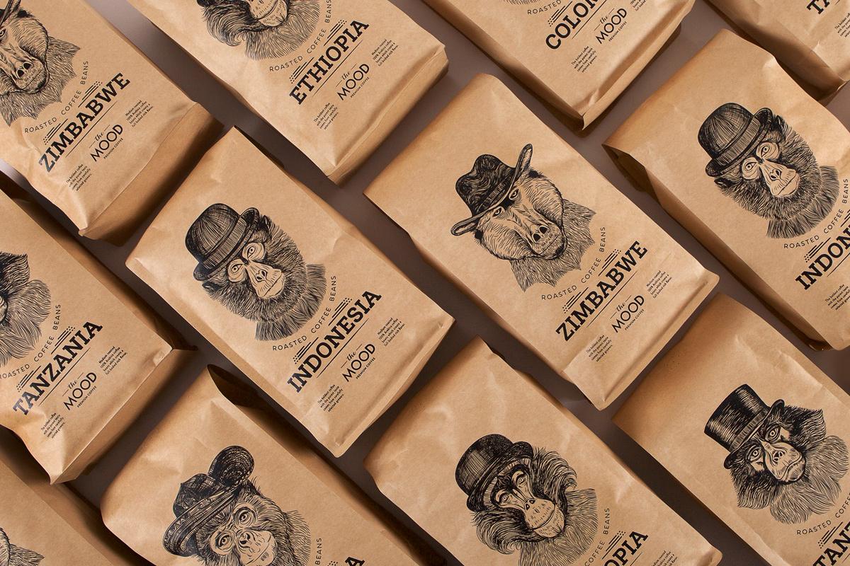 Salvita Bingelytė – The Mood Coffee Beans Packaging