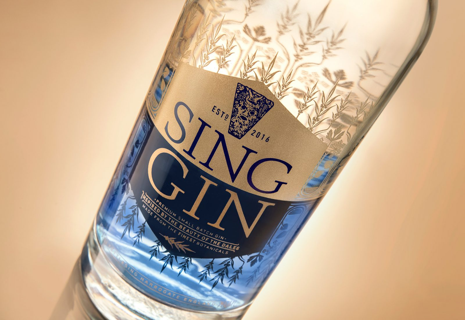 Brand and Packaging Creation for Sing Gin – Inspired by the Beauty of the Dales