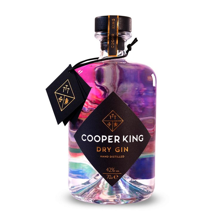 Cooper King, a Pioneering Gin, Powered by 100% Green Energy