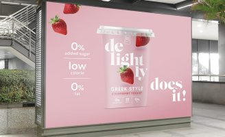 Simon Pendry Creative – Delightly Outdoor and Digital Campaign