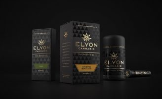 Elyon Cannabis Brand Identity and Packaging Design by SixAbove