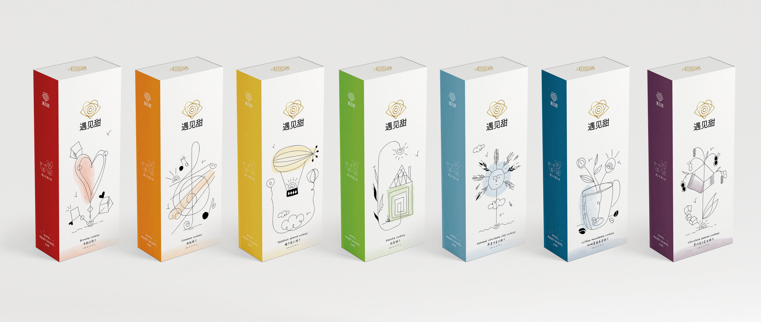 Brand and Packaging Design for Hand-Crafted High Quality Biscuits