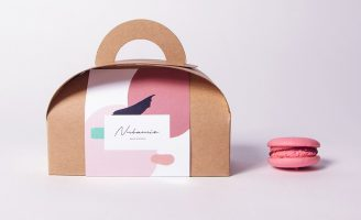 Brand and Packaging Design for Nubamie Gluten-Free Macarons