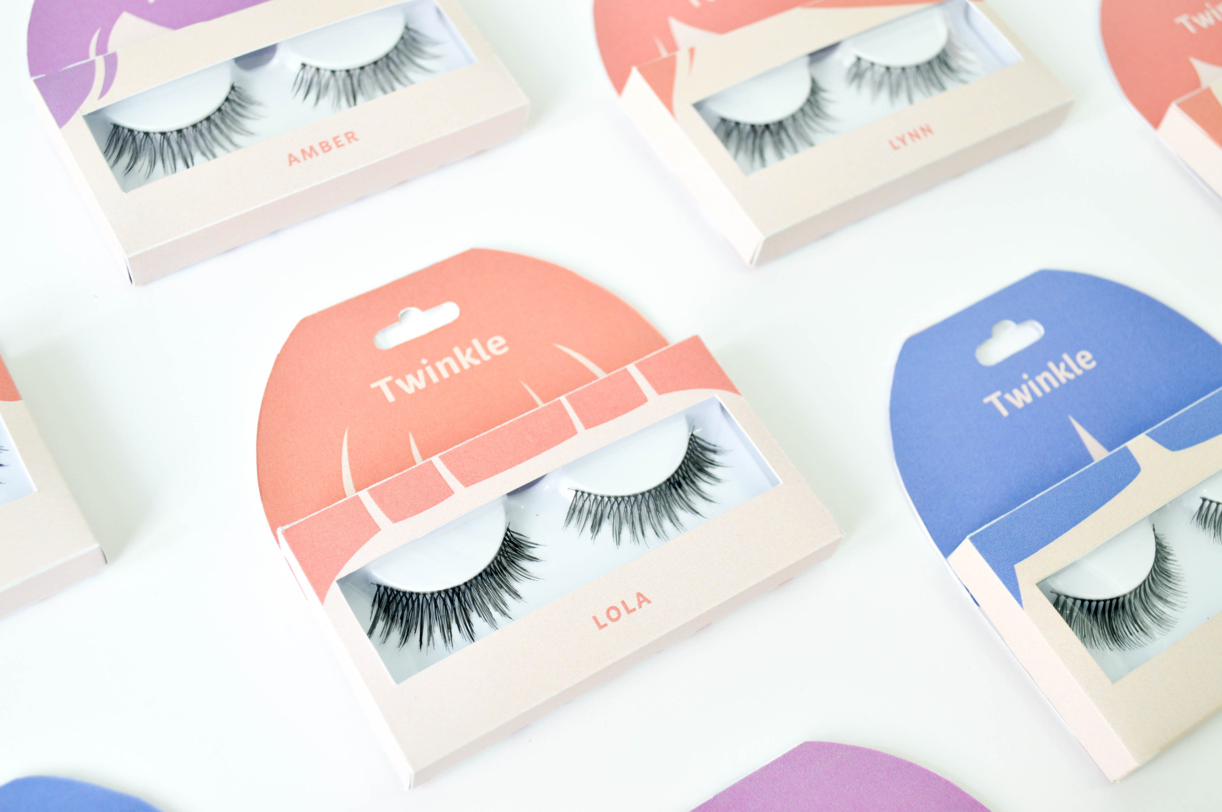 Synthetic Eyelashes Fun and Creative Packaging Design Concept