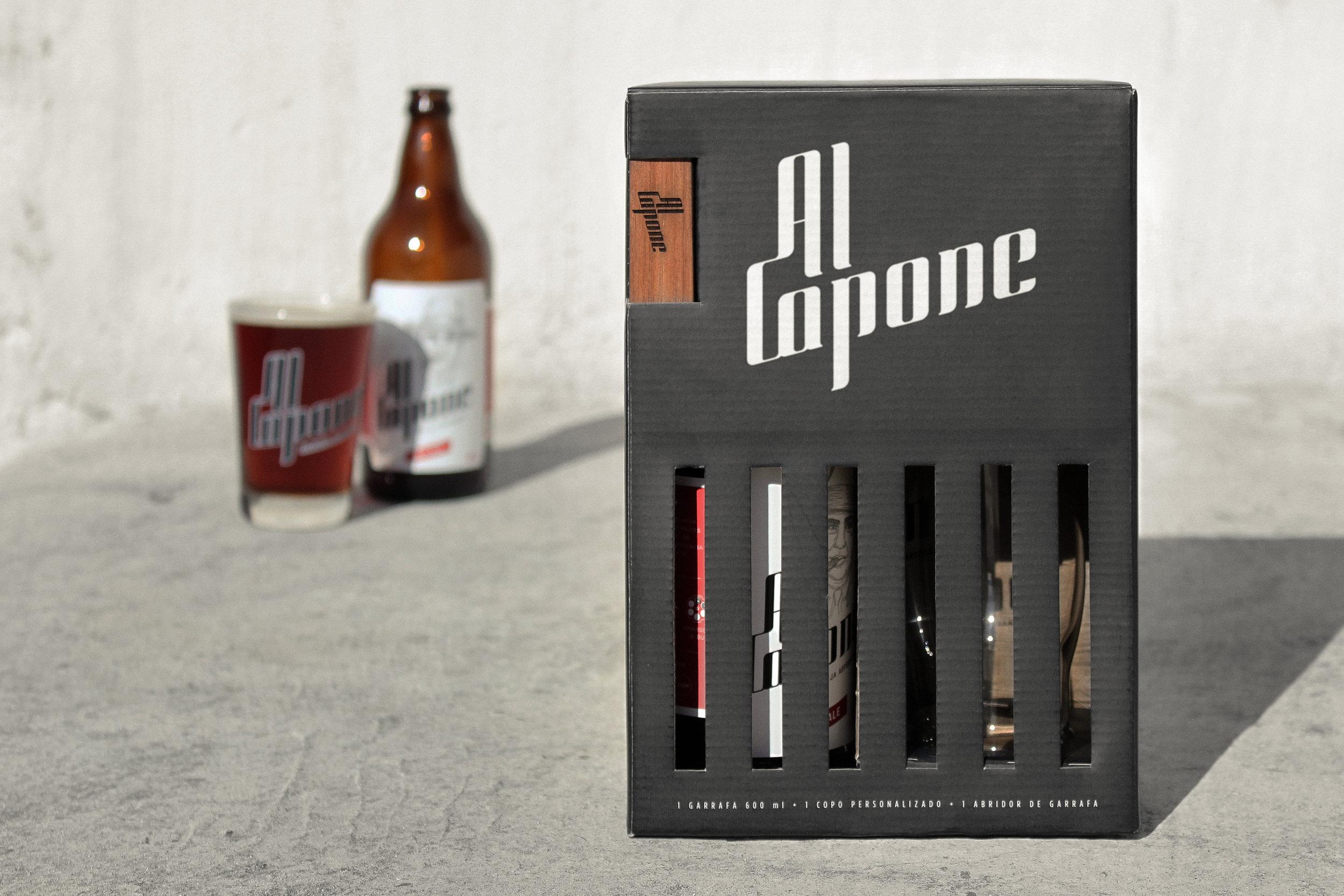 Al Capone's Prison Packaging Design