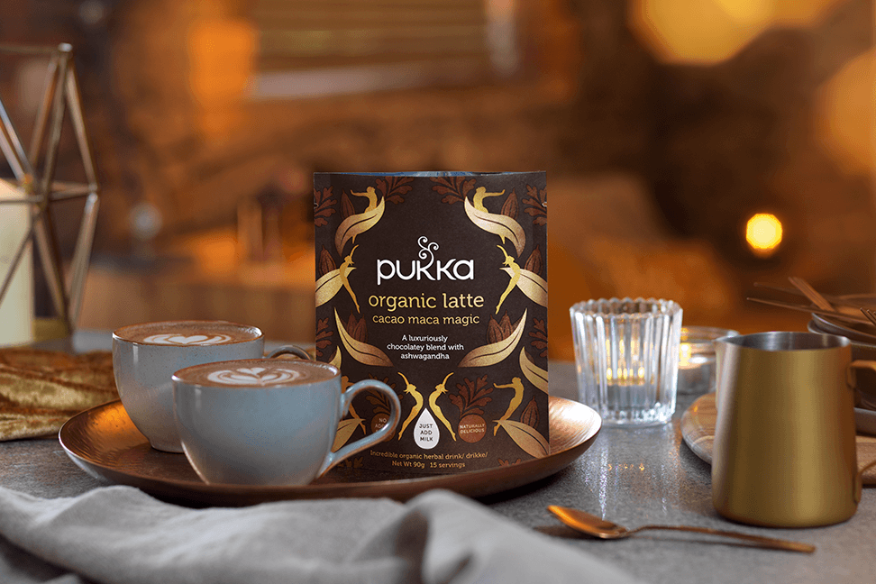 The Space Creative Designs Pukka Herbal Latte Blends