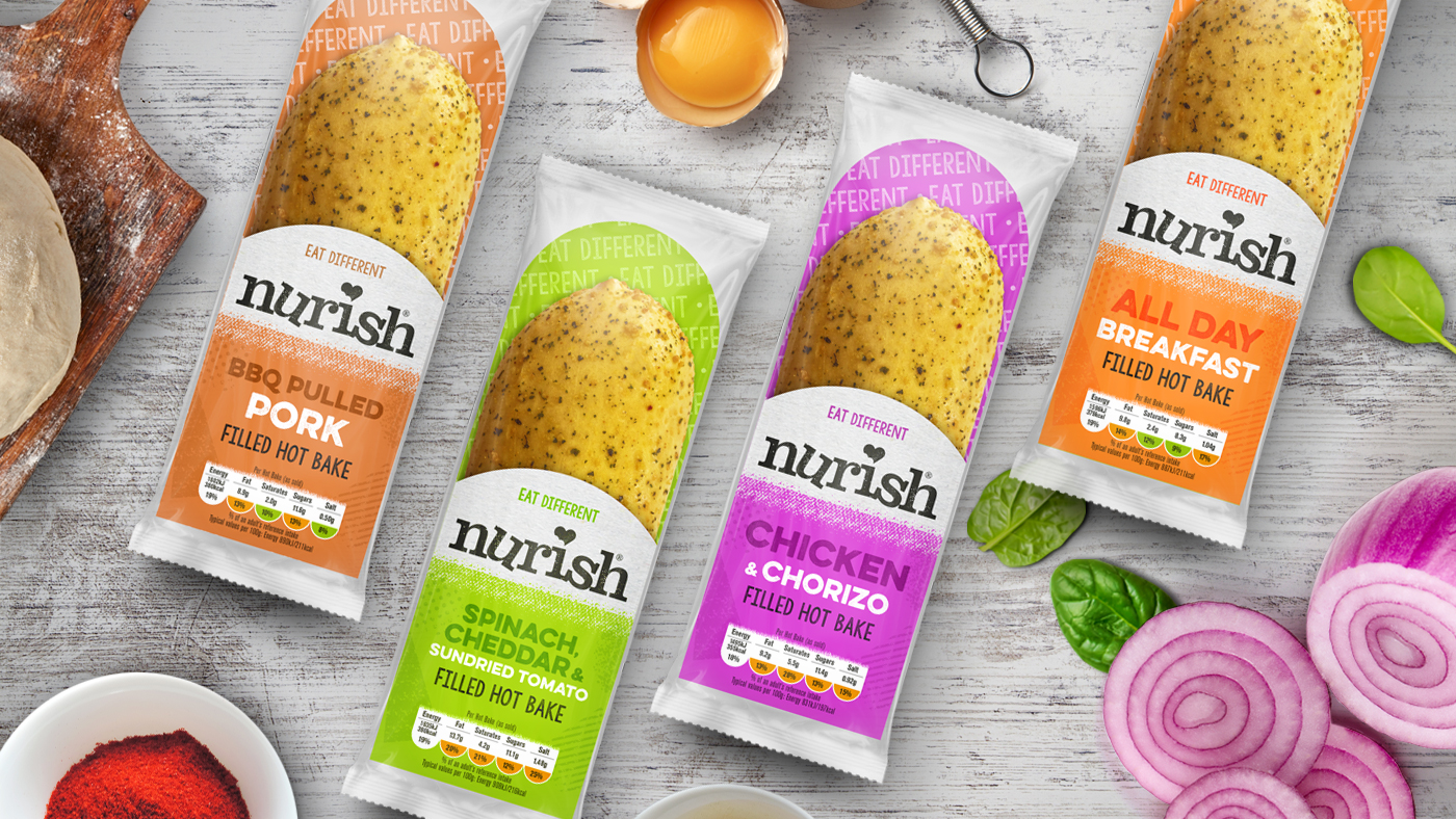 Brand & Packaging Design for Nurish for the UK Market