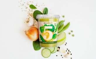 Packaging Design for Soupologie 5 a Day Soups