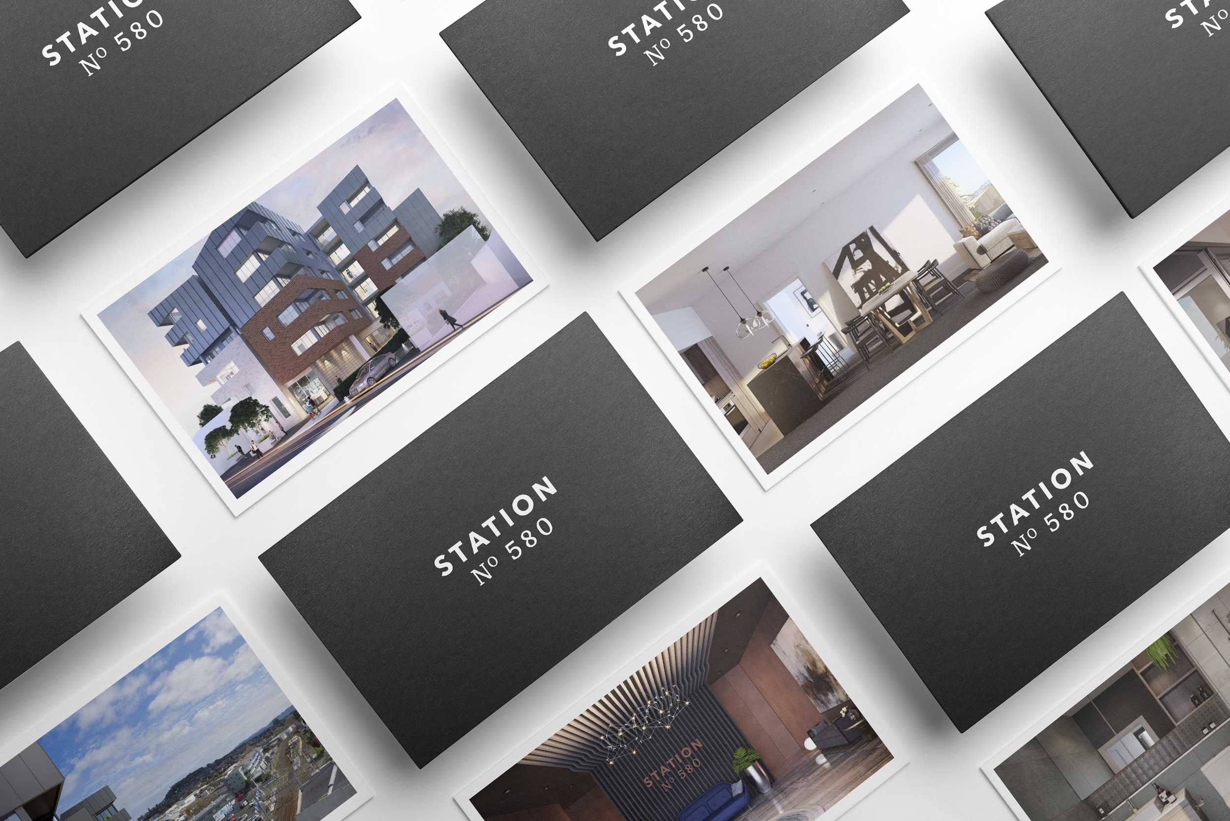 Brand Identity, Digital and Printed Branded Assets for New Zealand Property Development Company