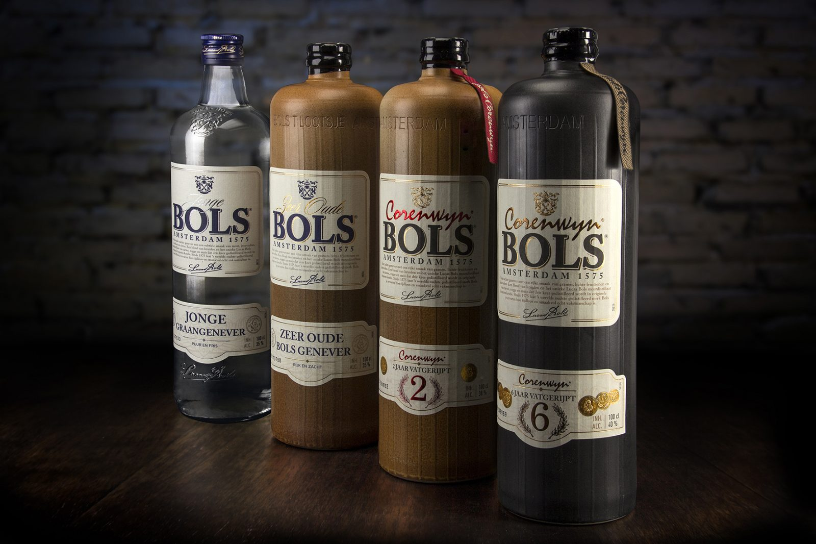 Packaging Design Restyling for Bols Genever Range by VHD