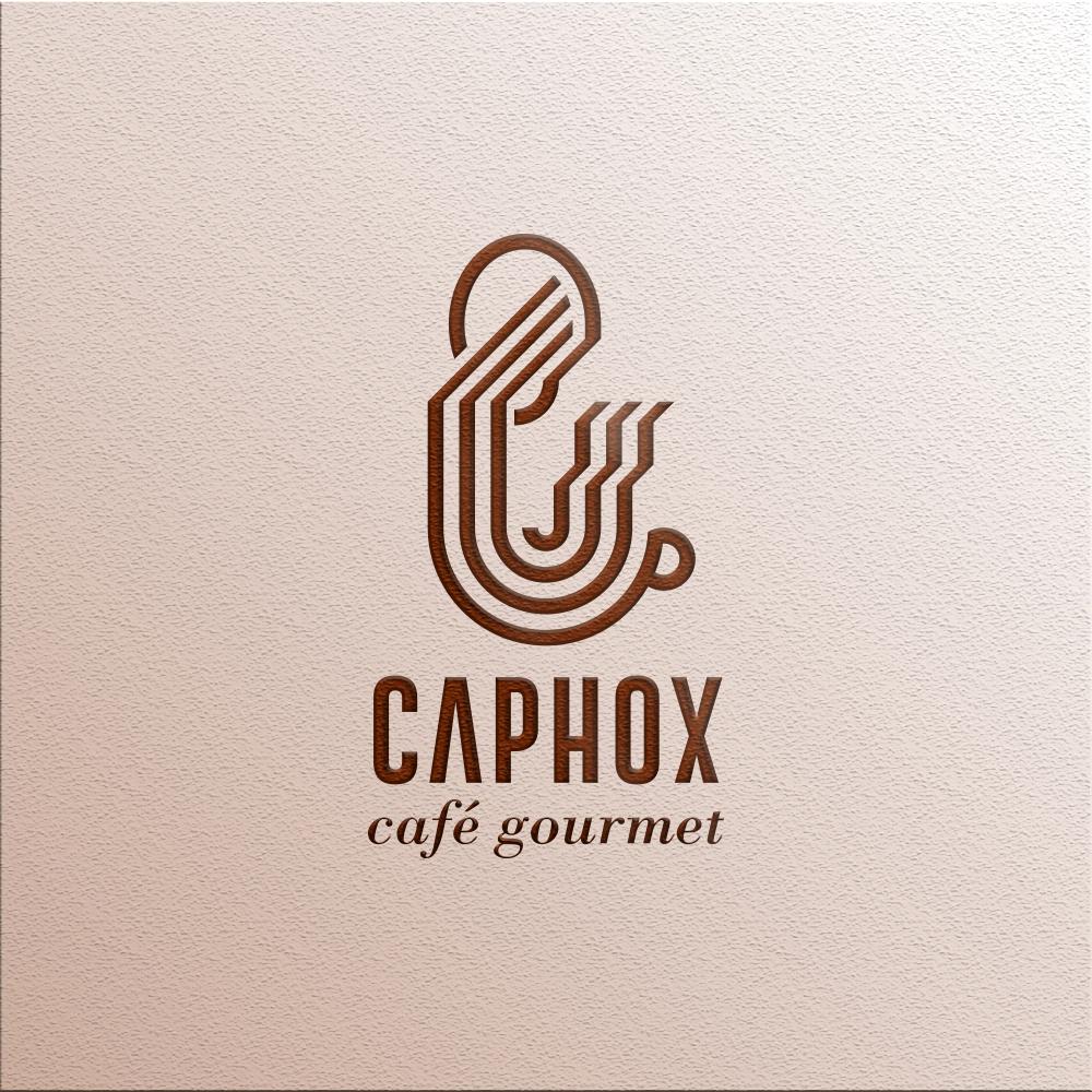 CAPHOX Café Gourmet Brand Design