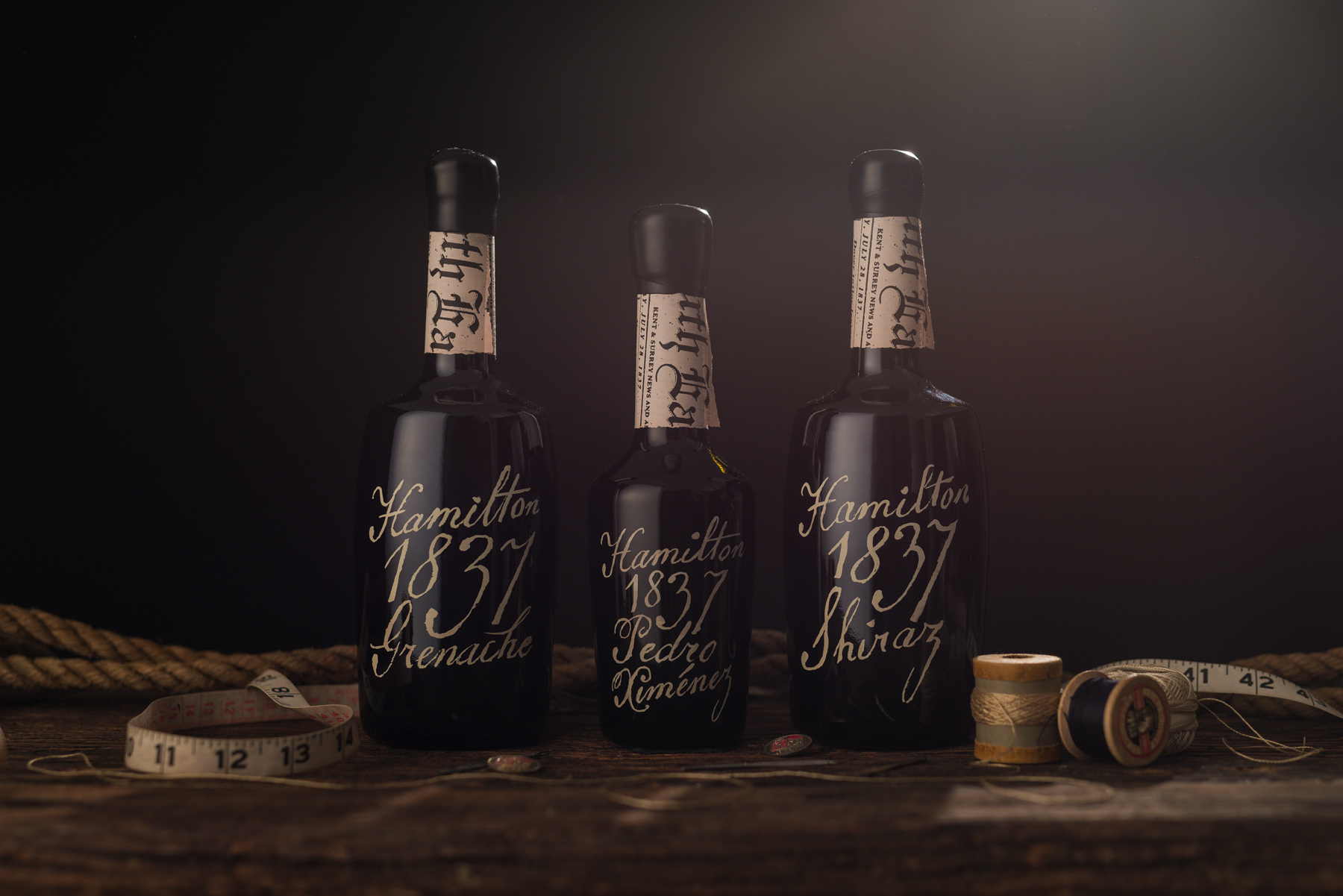 Beautiful but Illegal Wine Smugglers Special Edition Design for Primary and Secondary Packaging