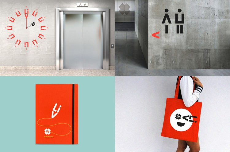 Modern and Bold Brand For a New Student Accommodation in Cardiff Called Livin