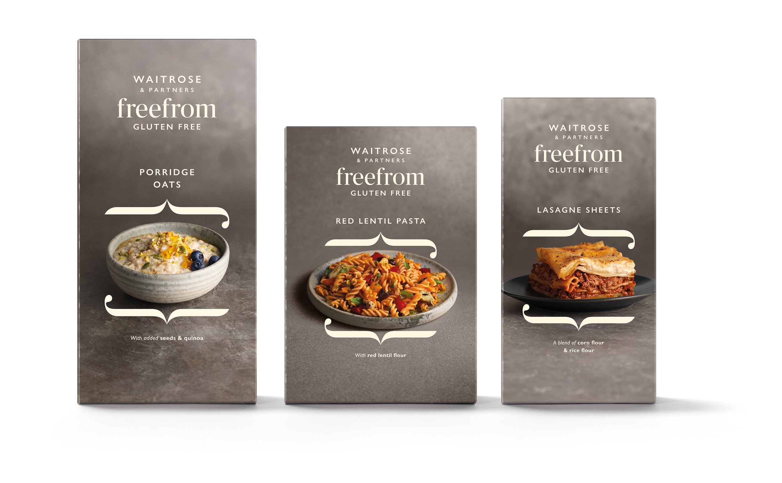"Waitrose and Partner Unveils New ""Free From"" Food Range Range by Williams Murray Hamm"