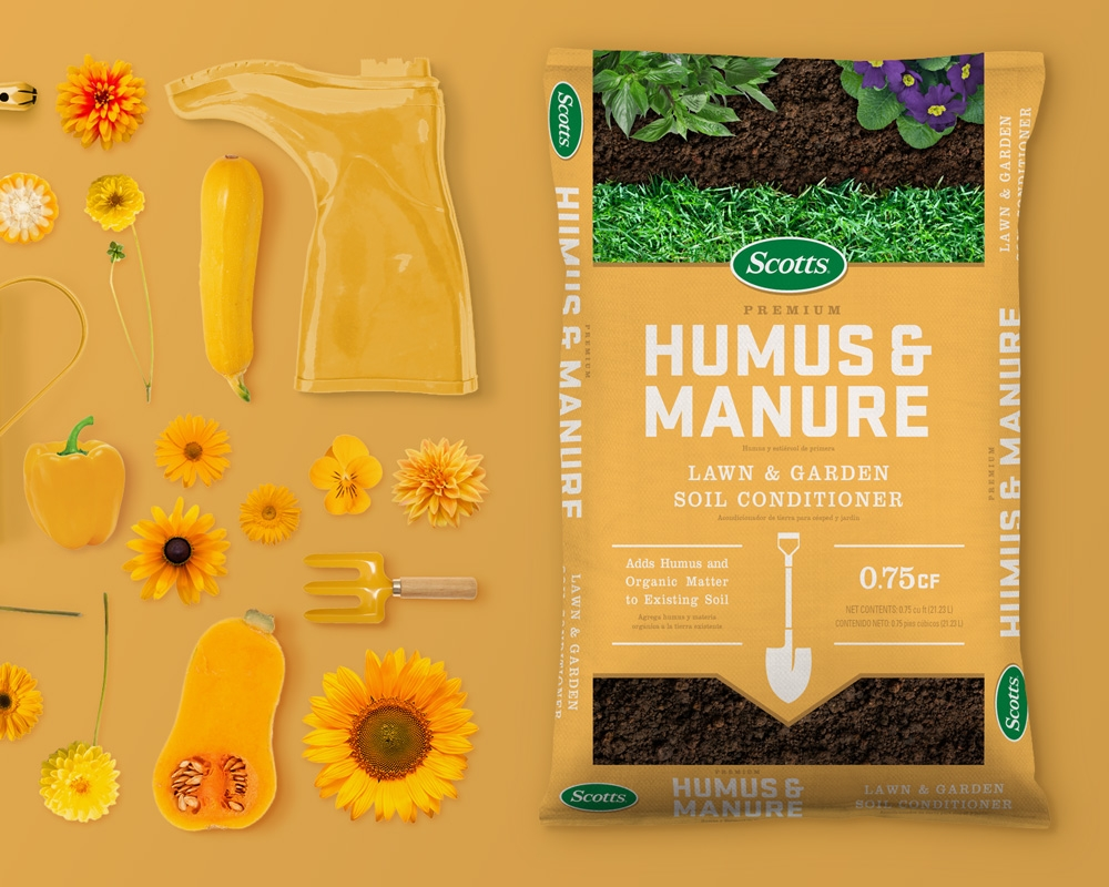 Redesign for Premium Blend of Topsoil, Humus and Manure