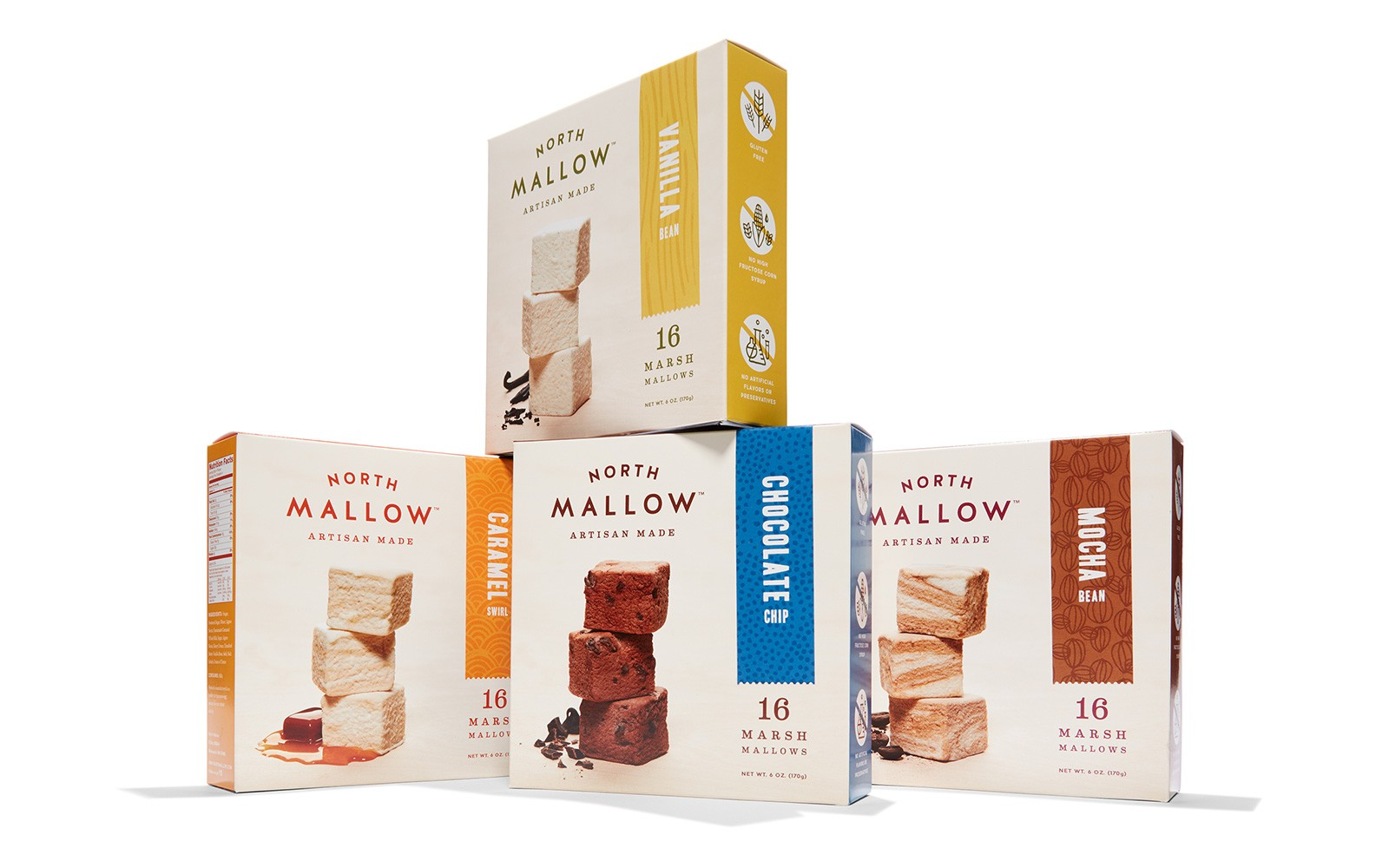 Branding and Packaging for Gourmet Marshmallows