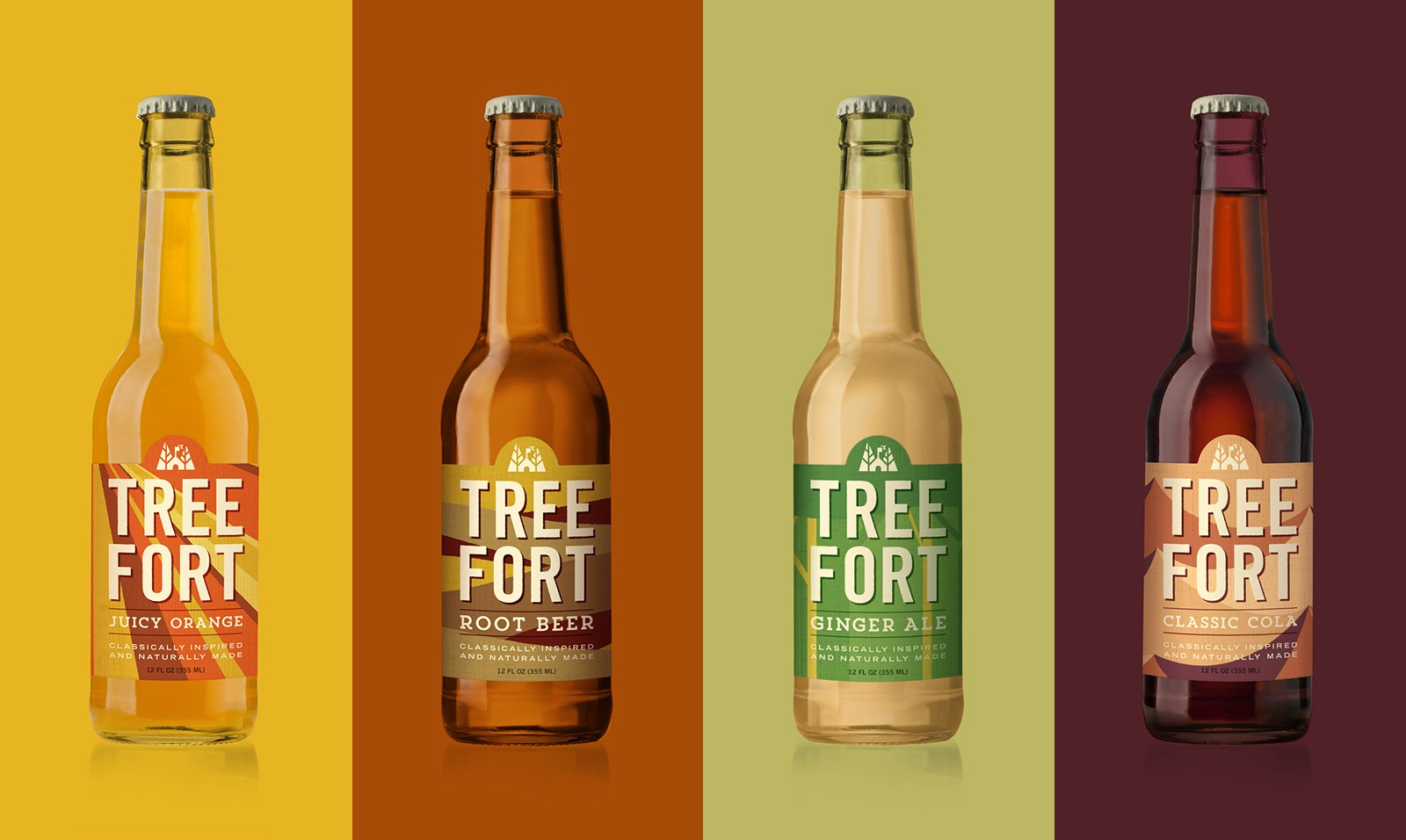 Branding and Packaging Design for Craft Soda Company