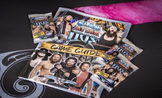 Special Moves with the WWE Slam Attax Live Trading Game