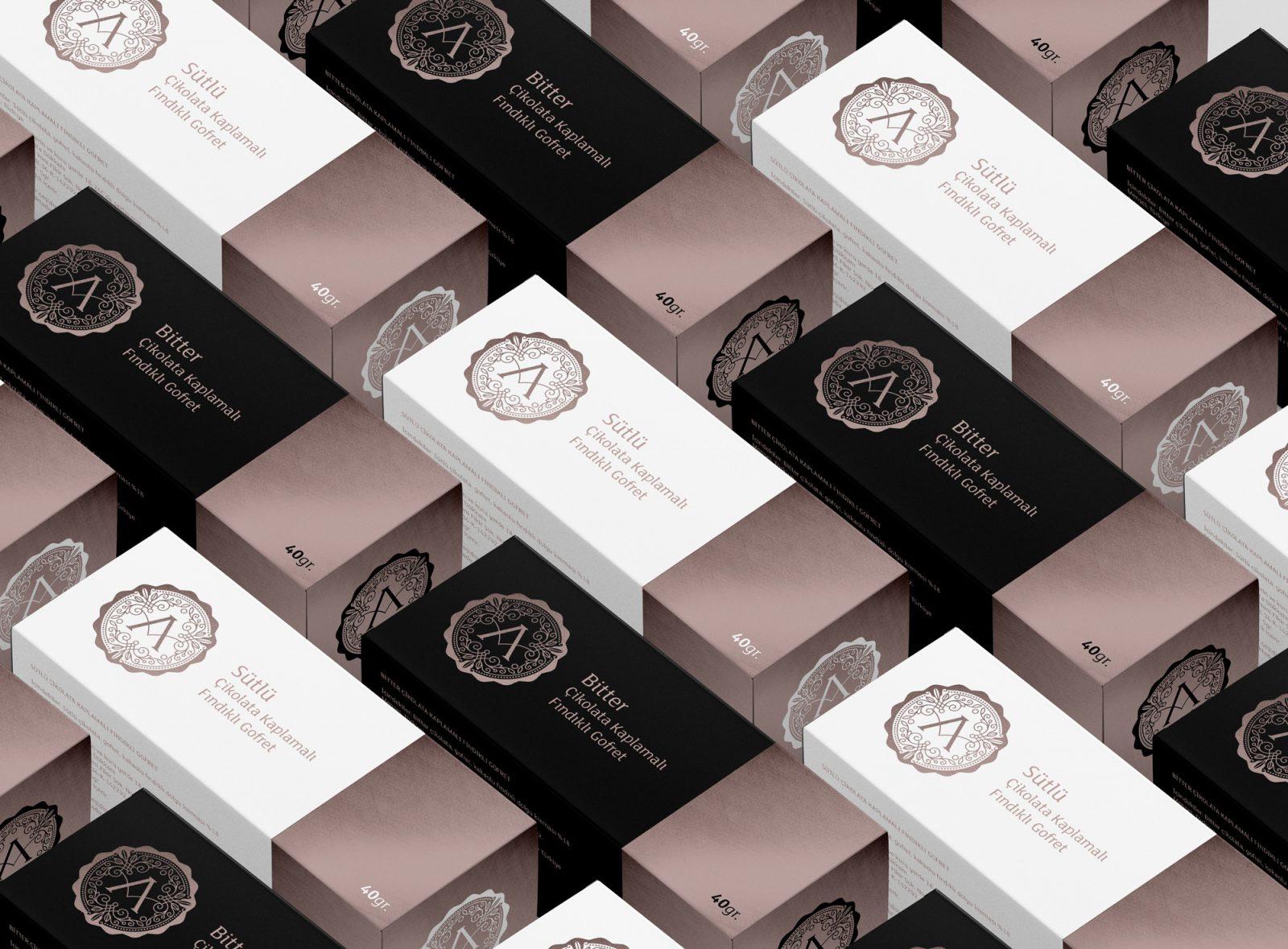 Asuman Chocolate Wafer Packaging Design