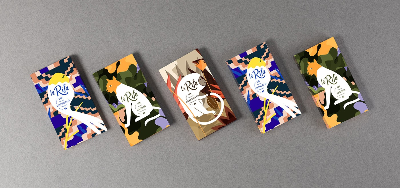 Mexican Origin Chocolate Expressing the Dense Jungle, Our Coexistence and an Ideal Ecosystem