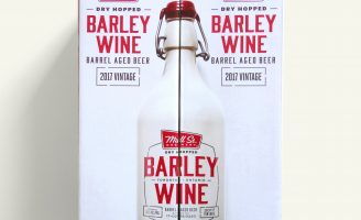 Ceramic Packaging Design for Canadian Mill Street Brewery Barley Wine
