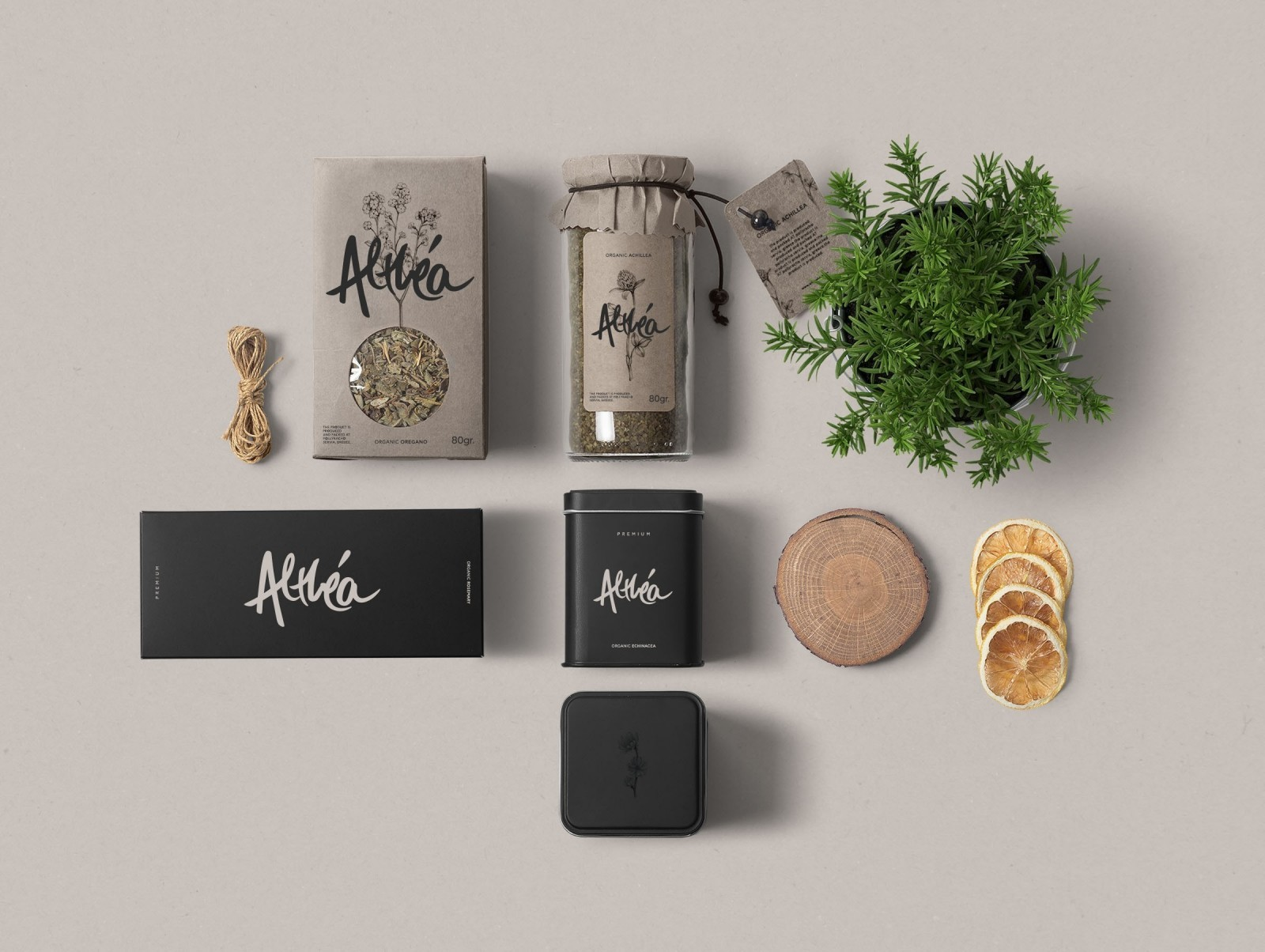 Sofia Papadopoulou – Althea Organic Herbs (concept)