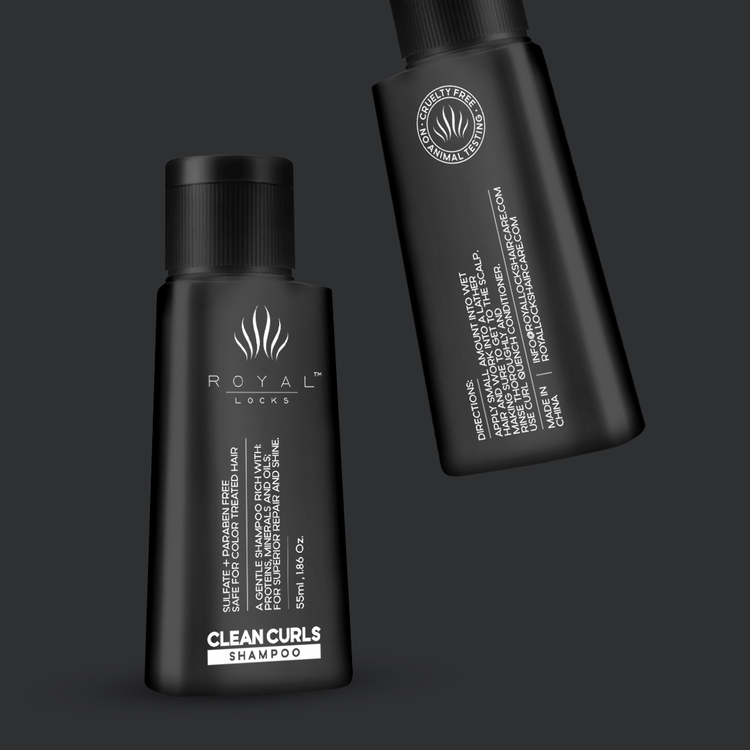 Mini Packaging for Branded Hair Products from the US