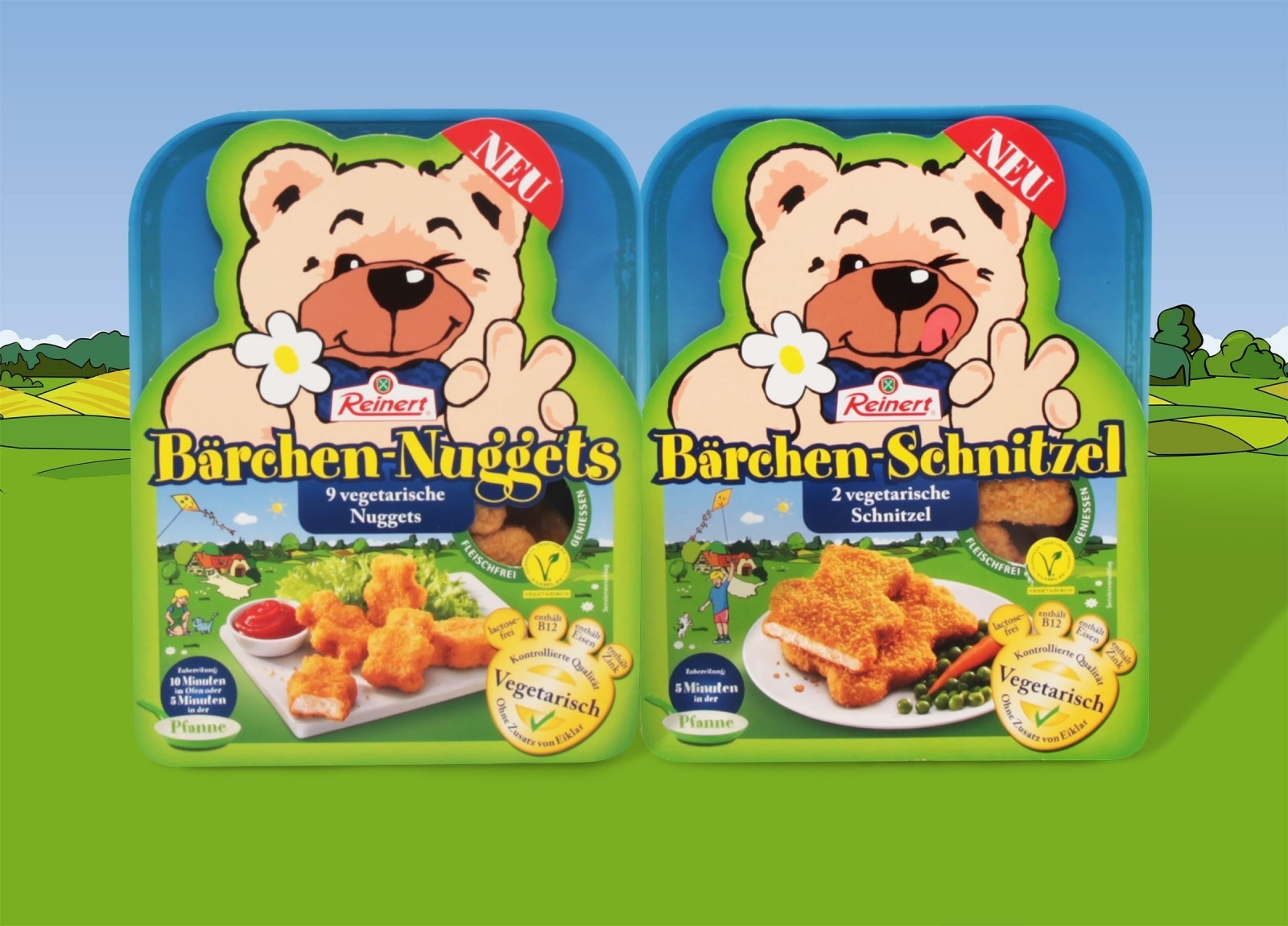 B+P Creality – Attractive Packaging for Vegetarian Bears