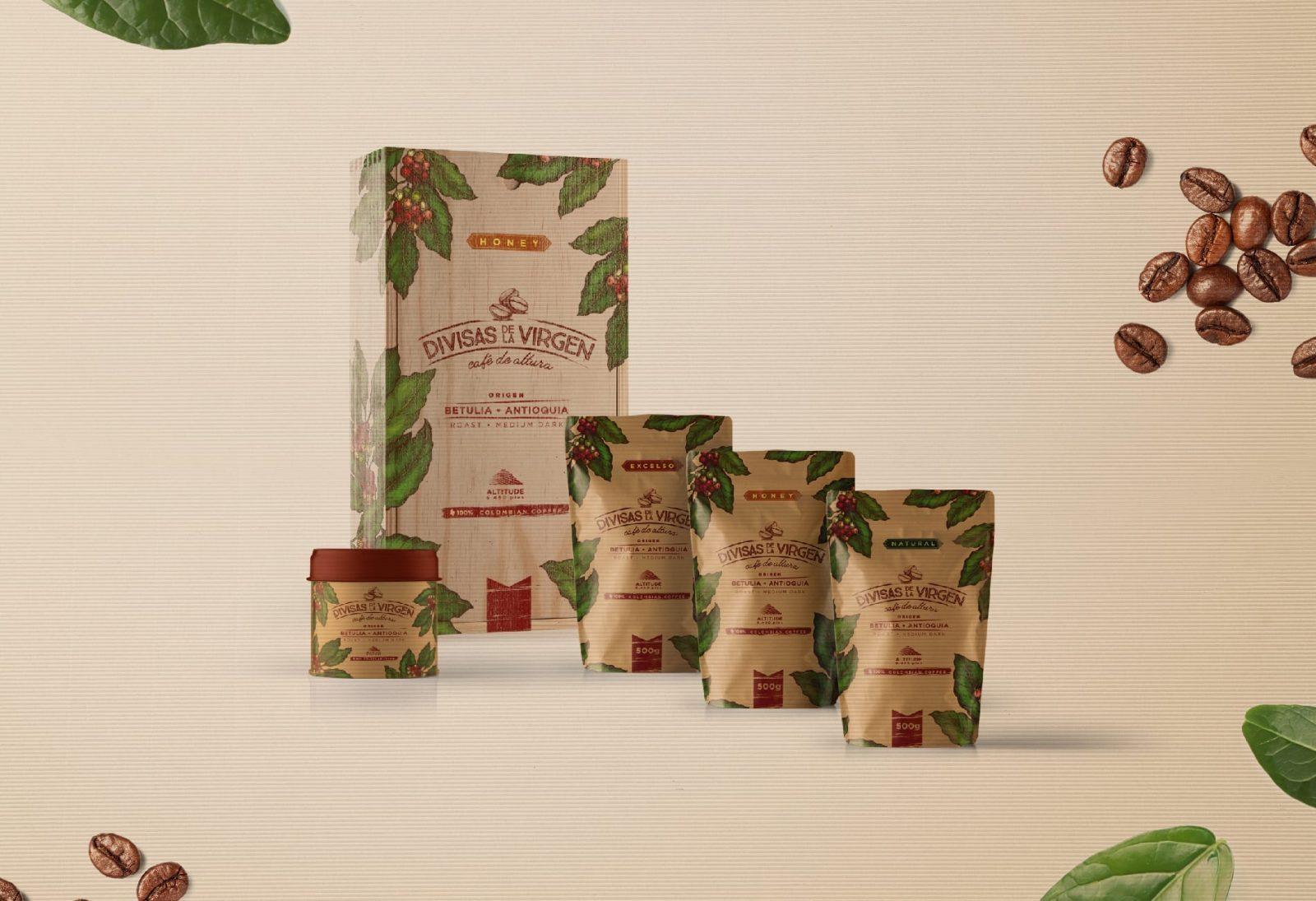 Branding And Packaging Divisas De La Virgen