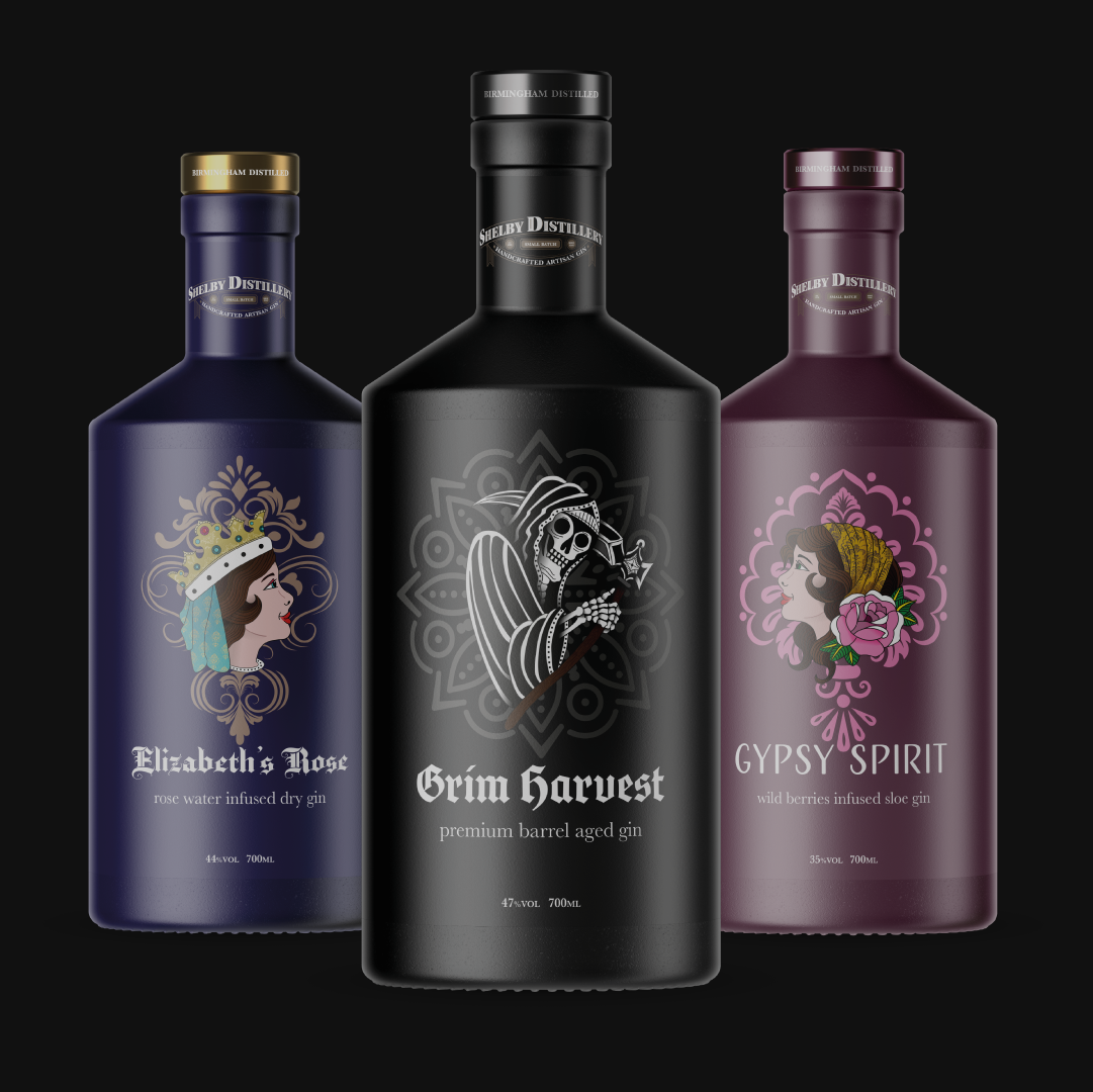 Modern Packaging Design and Traditional Corporate Brand Design