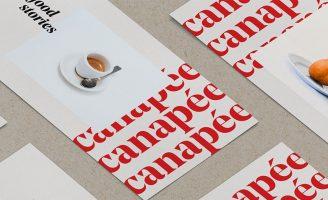 Canapée Brand Identity