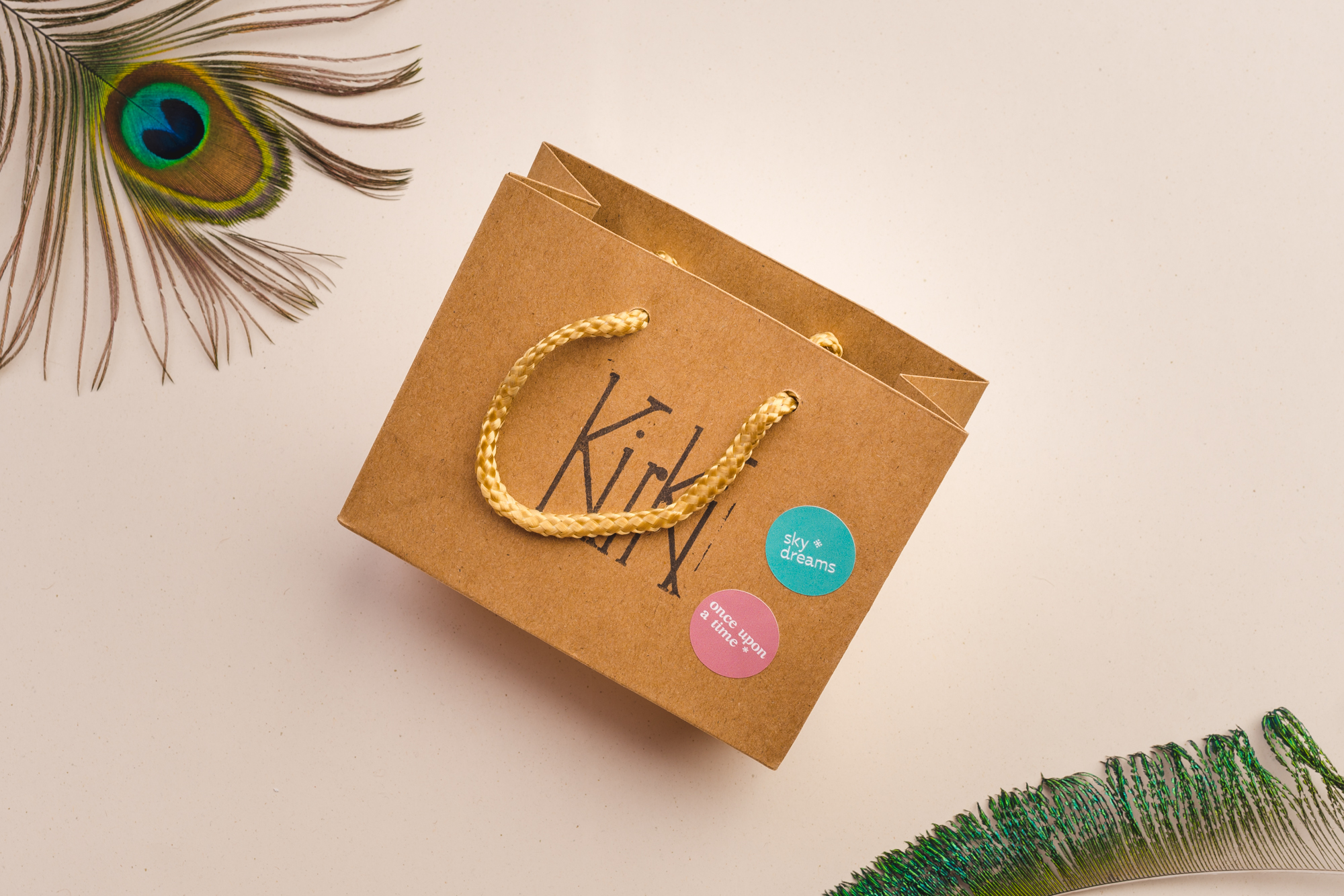Visual Identity and Design for Kirki, a Jewelery Brand from Greece