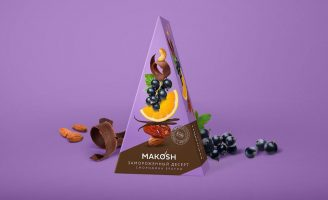 Packaging Concept Design for Makosh Healthy Desserts