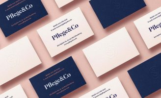 Pflege&Co Insurance Company Brand Identity