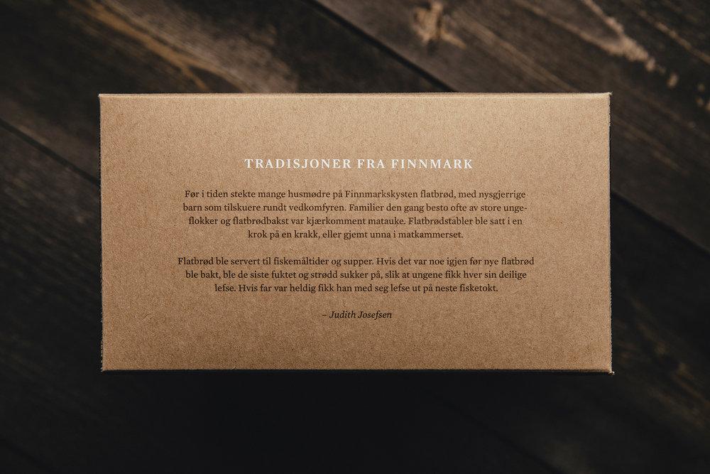 Packaging Design for Norwegian Traditional Flatbrød