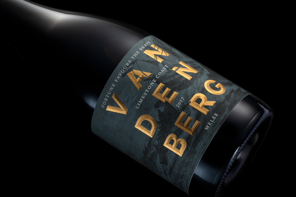 """Fortune Favours the Brave"" Vandenberg Wines Designed by Co-partnership"