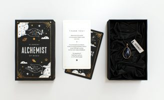 Mistical Packaging for the Jewelry Brand