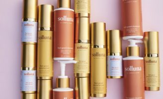 Solluna Skincare Collection Design Reflects the Warmth of Sunshine and Cleansing Ocean Air