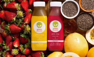 Branding and Packaging Design for Cold Pressed Juice Brand Greenpeople