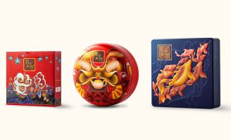 Packaging design for Hai Chau's Mid-autumn Mooncake 2019