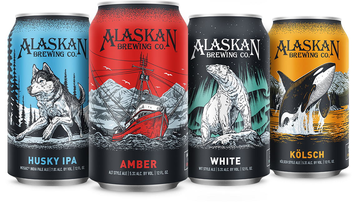Packaging Refresh for Alaskan Brewing Company