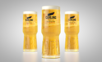 Carling Announces New Easy Carry Glassware To Ease On-Trade Queuing