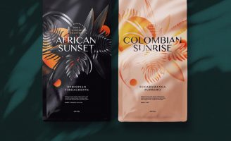 Illustrated Packaging Design for Soul Coffee Roasters