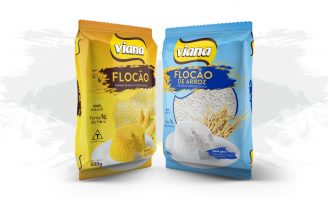 Flocão Viana Packaging Design