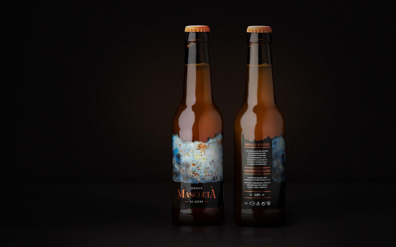 Branding and Packaging Design for Mascletà Beer — Gelpi Design