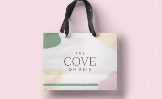 Identity Design for The Cove on Reid Avenue