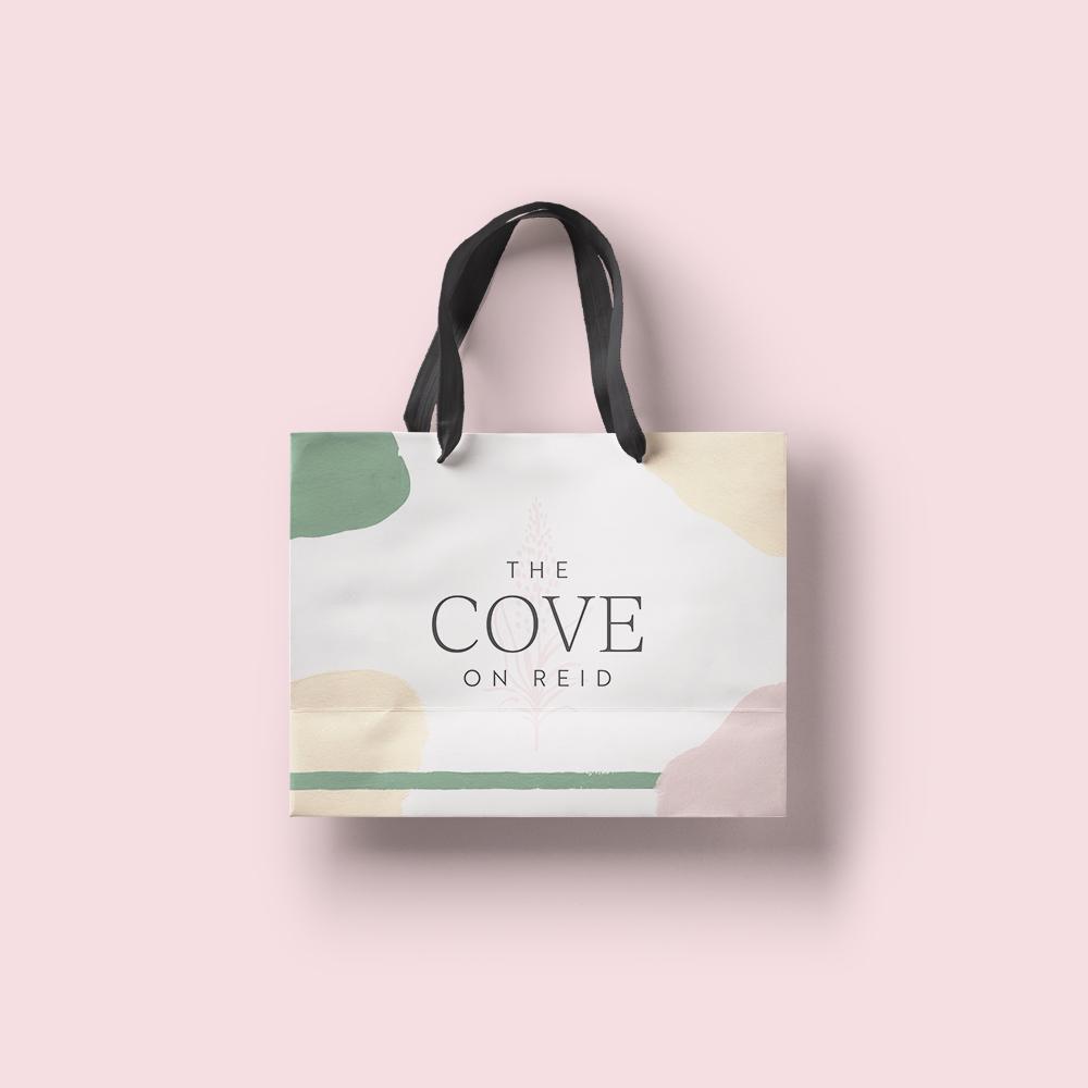 Identity Design for The Cove on Reid Avenue